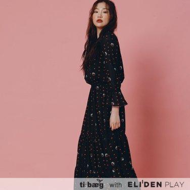 [티백][TIBAEG x DISNEY] 20SS PETIT OP _ 블랙 (OP-20MD004)