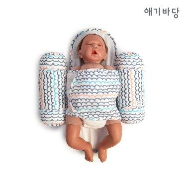 애기바당 신생아 기능성속싸개 모드락속싸개[물결]