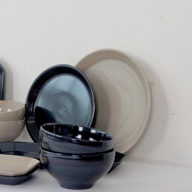 [윤도자기] 모던 한식 플레이팅 그릇 - 대접시 24cm (5컬러택1)