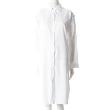 센스 칼라넥 롱 셔츠 (ME9NBX165)