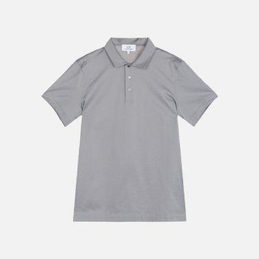 남성 코튼 솔리드 폴로 티셔츠 VMMT1KP008A0N30