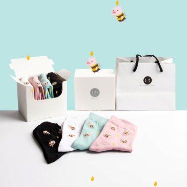 피크닉 패션양말 4족 선물세트