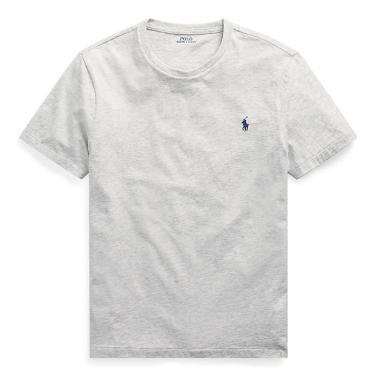 폴로 랄프 로렌 커스텀 슬림 크루넥 티셔츠(MNPOTSH1N810365D86)