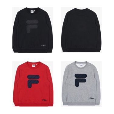 패딩 F 로고 맨투맨/FK2POB4201X