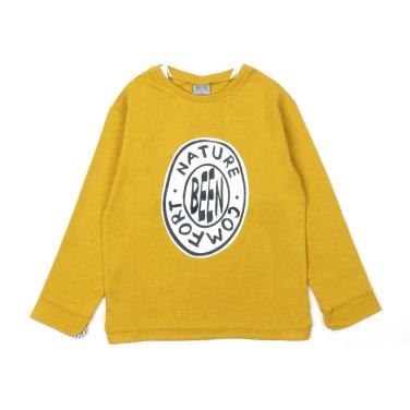 BEEN  남아 올리브그린 긴팔 티셔츠 BS13TS02OL