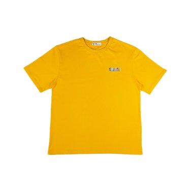 [하이레졸루션] 메인 로고 티셔츠 - YELLOW