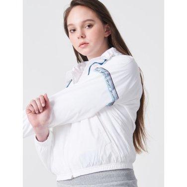 화이트 여성 ACTIVE 트랙 수트 재킷 (BO9239E021)