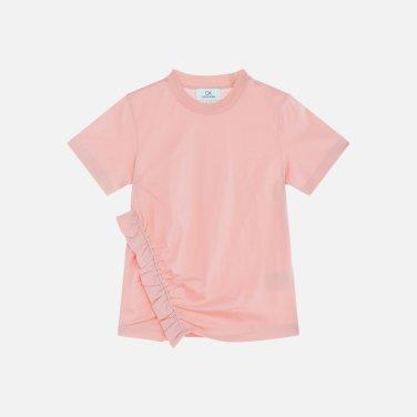 셔링포인트 반소매 티셔츠 (VWMT1KK07AA0)