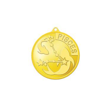 별자리메달-물고기자리 3.75g