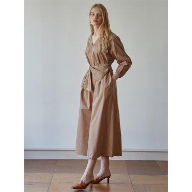 [스튜디오지] RIBON Bi dress_BEIGE