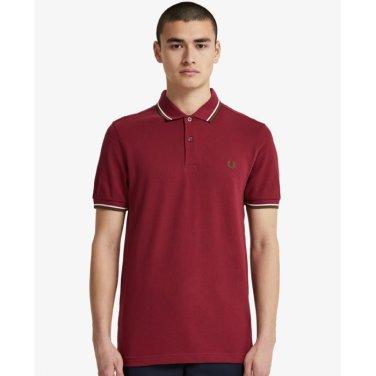 [S/S상품]트윈 팁 프레드 페리 카라티셔츠Twin Tipped Fred Perry Shirt(106)AFPM1933600