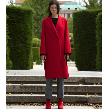 [아바몰리] LAUREN HANDMADE CASH COAT [RED](2018FWAVA10E)