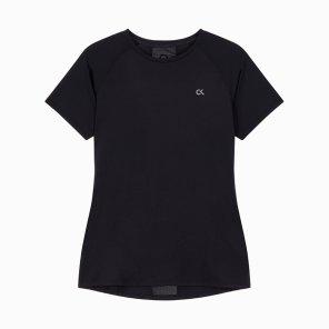 여성 씨케이피 센터 백 패널 반팔 티셔츠 4WF8K140-007
