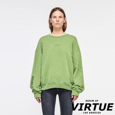 [미국] VENICE CREW NECK SWEATER GREEN (VW93D5607TGRN)