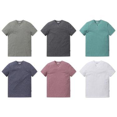 [올젠]리플 노치넥 티셔츠(ZOZ2TR1304 6종 택1)as