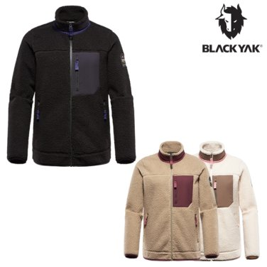 19FW 블랙야크 여성 양털 플리스 집업 L쉐르파자켓-2-ELBON