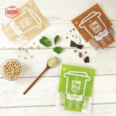 고단백 곡물쉐이크 단백한끼 3가지맛 3주분 (25g*21입) / 무료배송