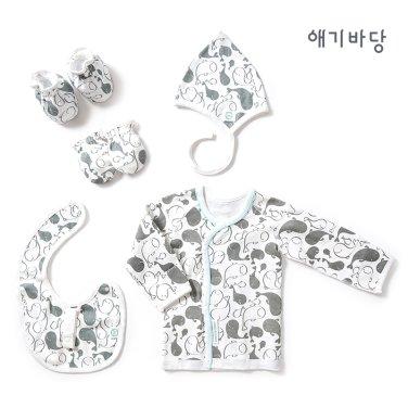 애기바당 출산선물 4종세트[돌고래]