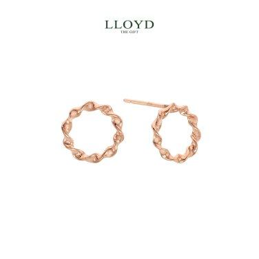 트위스트 원형 귀걸이(LPTJ3001T)