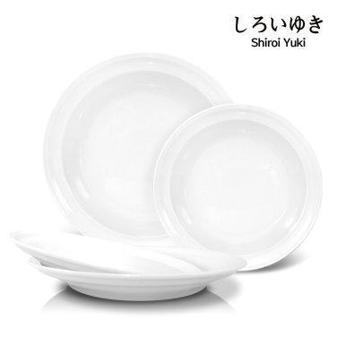 시로이유끼 클래식 접시세트 4p