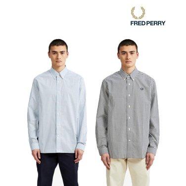 [S/S상품]투 컬러 깅엄 셔츠 2종 AFPM1915554