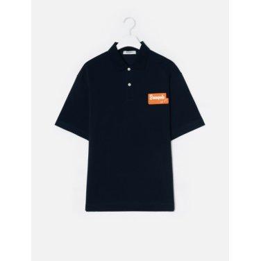 19SS  네이비 와펜 포인트 루즈핏 칼라 티셔츠(BC9442C20R)