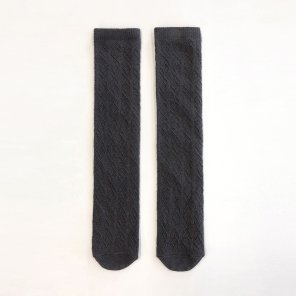 Irene Lace Socks_Charcoal (JC20SSAC02CH)