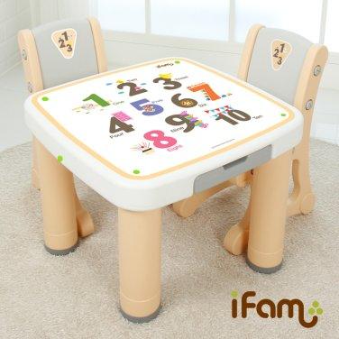 아이팜 마시멜로 책상의자세트(숫자) / 유아책상/유아놀이상/공부상