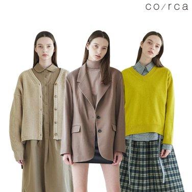 [코르카] F/W Collection 이번 달 월급은 코르카에서 탕진!♥자켓/원피스外