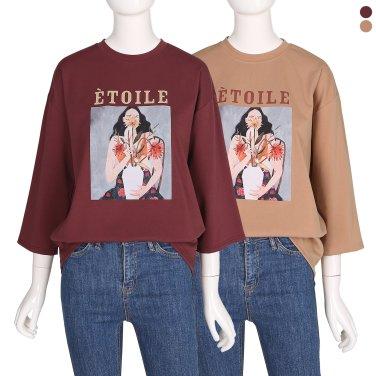 프린트 티셔츠 IW9WE6120