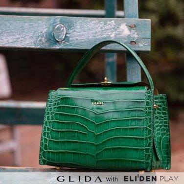 [그리다] GLIDA OPENING Bag (S) - Green (GOCGN-01)