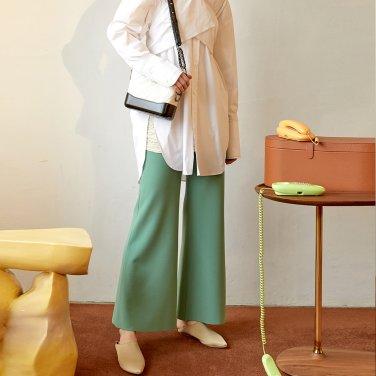 Dew Wide Trouser_Citrus Green (JC19FWPT02CG)