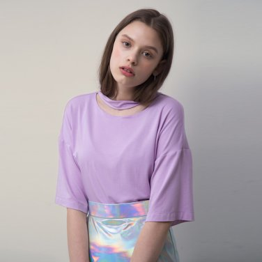 Cotton Jersey Short Sleeve Top