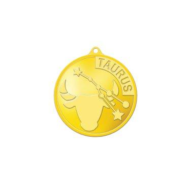 별자리메달-황소자리 3.75g