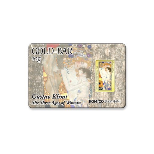 세계명작 시리즈 골드바 구스타프 클림트 - 여성의 세시기10g