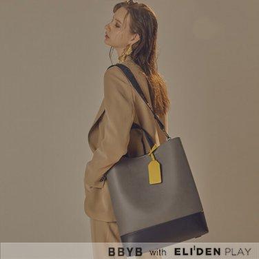 [비비와이비] BRUNI Unisex Tote Bag (Charcoal Grey) (09I3110BBJ)