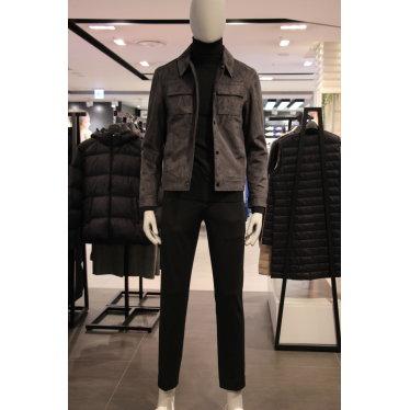 남성 스웨이드 트레커 자켓(KA8W9-MGJ010)