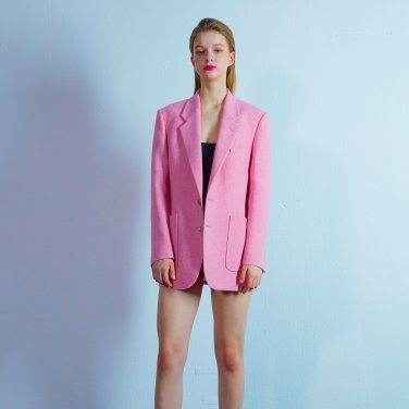 Custom button jacket 008 Pink