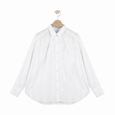 [여성]루즈핏의 화이트 셔츠 블라우스(T192MBL151NW.E)