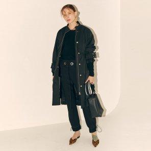 Manual Fur Lining Coat_Black (JC19FWTOU-03BK)