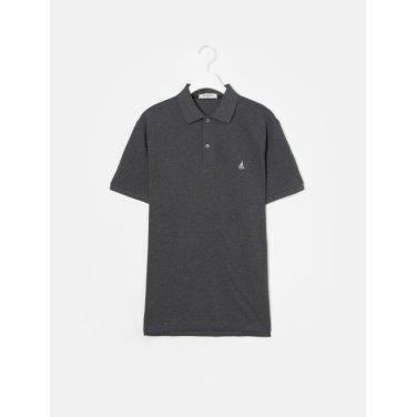 19SS  Unisex 애쉬 솔리드 칼라 티셔츠(BC9242A014)