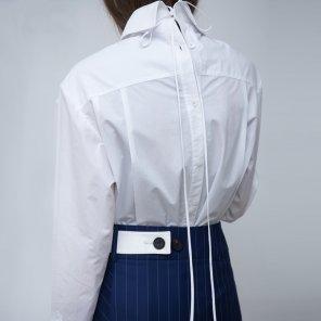 Button Back Shirt Dress