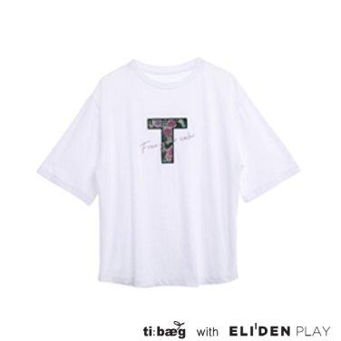 [티백][TIBAEG] FREE TS 프리 티셔츠 (TS-9M001)