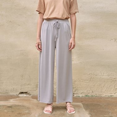 AGAIN BANDING PANTS_GRAY