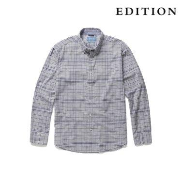톤온톤 체크 코튼 셔츠 (NEZ3WC1603)