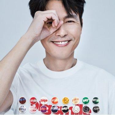 [지오다노] 남 코튼 프린트 티셔츠(스마일) 099502