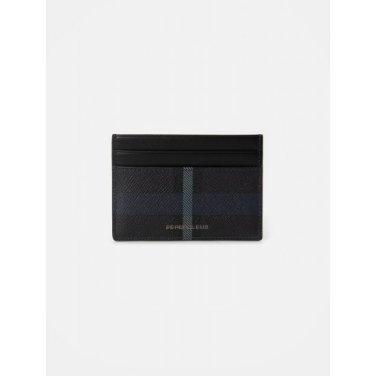 빈폴 헤릿 낱장 카드지갑 - Black (BE02A3M185)