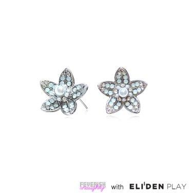 [피버리쉬앤너티] MAGNOLIA EARRINGS-SILVER (MG2E1)