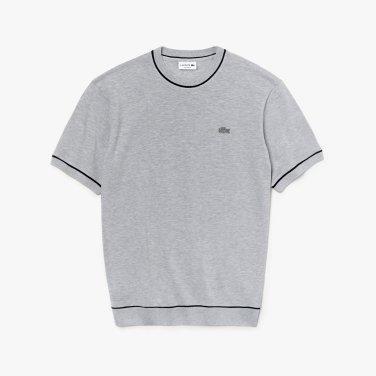 [엘롯데] 남성 피케 라운드 반팔 티셔츠 LCST TH4272-19BMNC