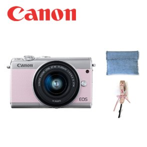 EOS M100 15-45mm PINK x KWANI Denim Edition / 핑크 에디션